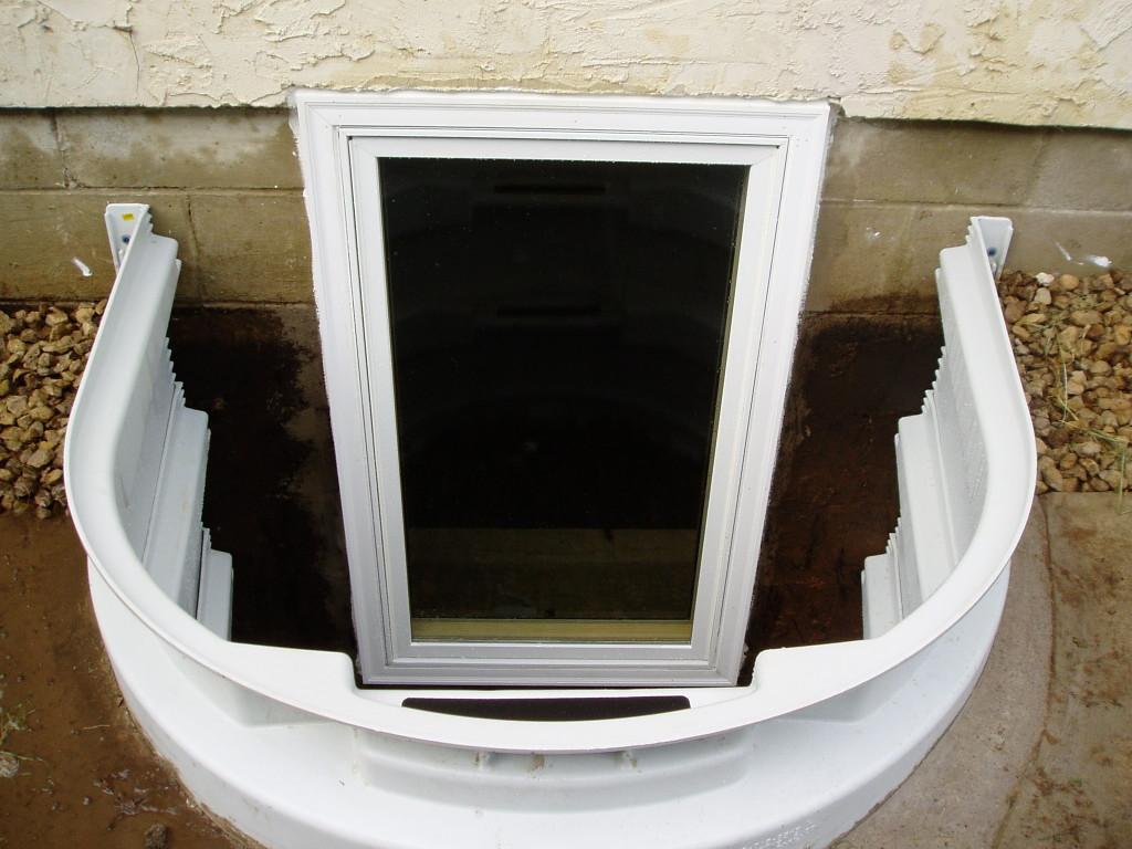 Egress Window Vinyl Well Brenne Builders