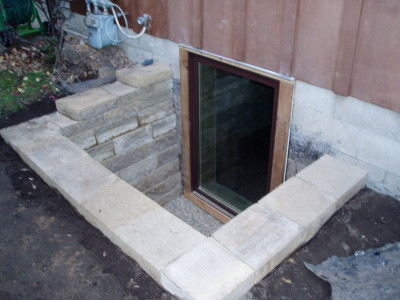 Egress Window – Block